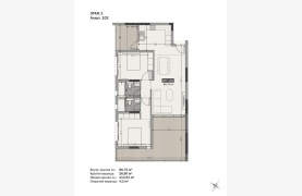 Hortensia Residence, Apt. 102. 2 Bedroom Apartment within a New Complex near the Sea  - 130