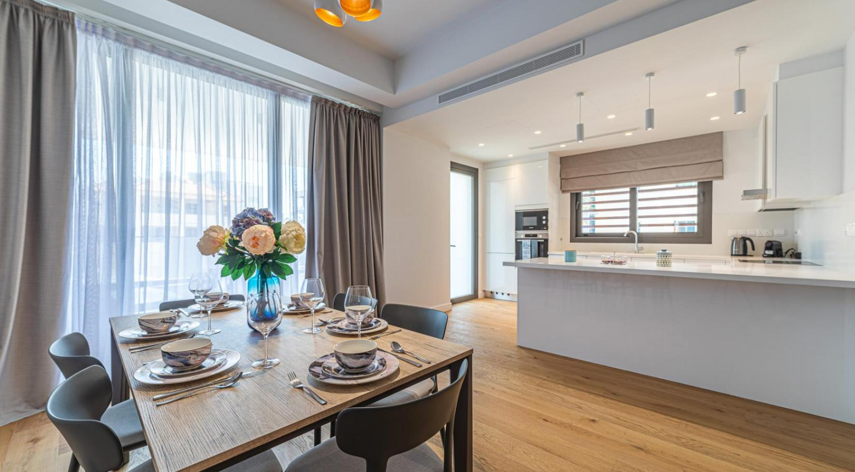 Hortensia Residence, Apt. 103. 3 Bedroom Apartment within a New Complex near the Sea  - 50