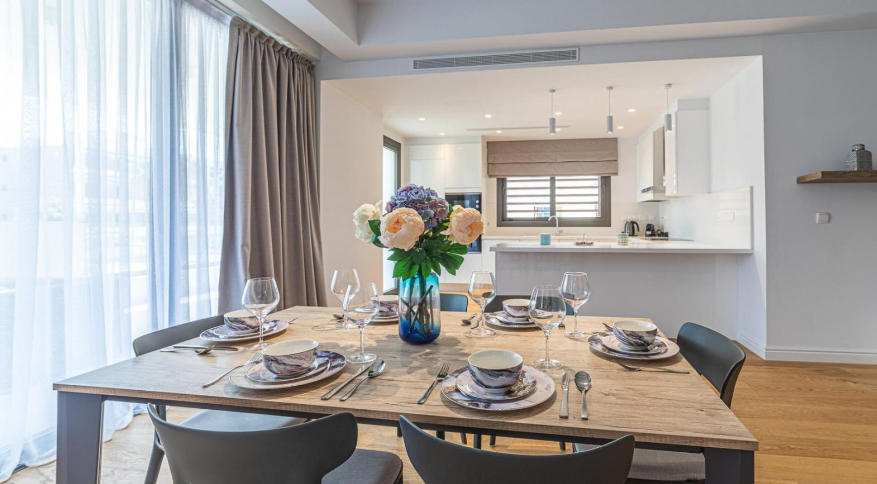 Hortensia Residence, Apt. 103. 3 Bedroom Apartment within a New Complex near the Sea  - 49