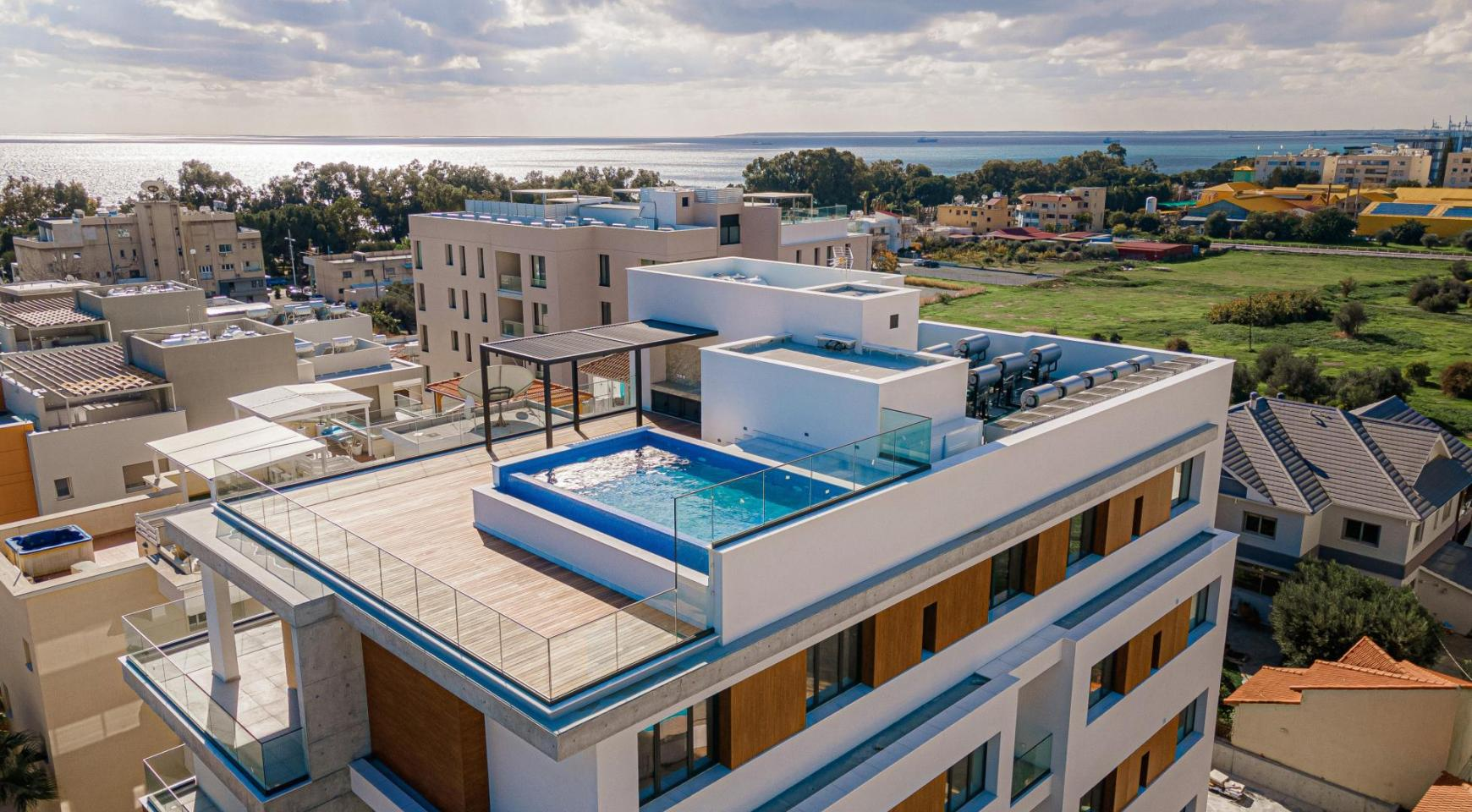 Hortensia Residence, Apt. 103. 3 Bedroom Apartment within a New Complex near the Sea  - 1
