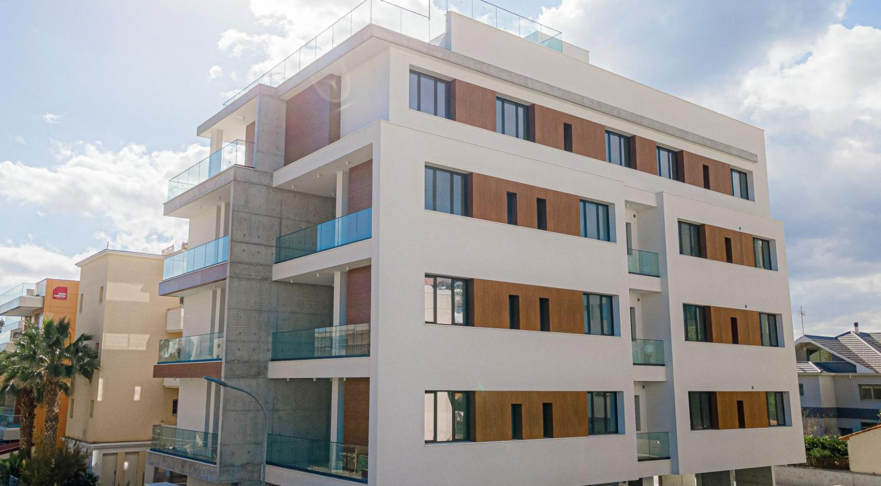 Hortensia Residence, Apt. 103. 3 Bedroom Apartment within a New Complex near the Sea  - 4