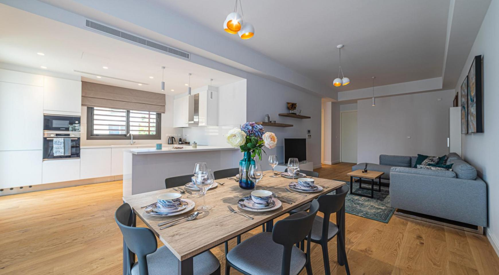 Hortensia Residence, Apt. 103. 3 Bedroom Apartment within a New Complex near the Sea  - 52