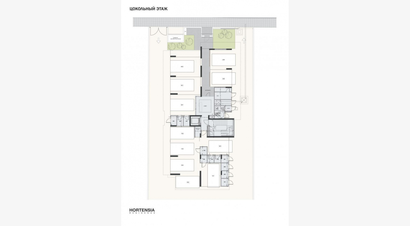 Hortensia Residence, Apt. 103. 3 Bedroom Apartment within a New Complex near the Sea  - 67
