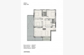 Hortensia Residence, Apt. 103. 3 Bedroom Apartment within a New Complex near the Sea  - 133
