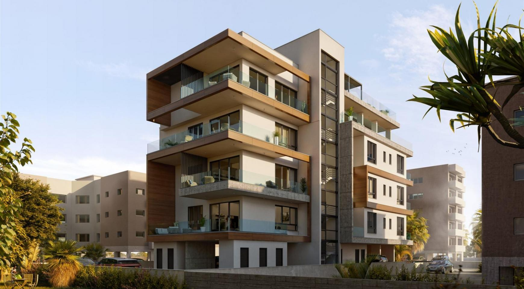 Hortensia Residence, Apt. 203. 3 Bedroom Apartment within a New Complex near the Sea - 8