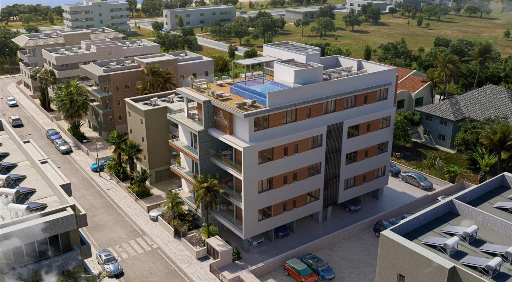 Hortensia Residence. Luxury 3 Bedroom Apartment 203 Near the Sea - 5
