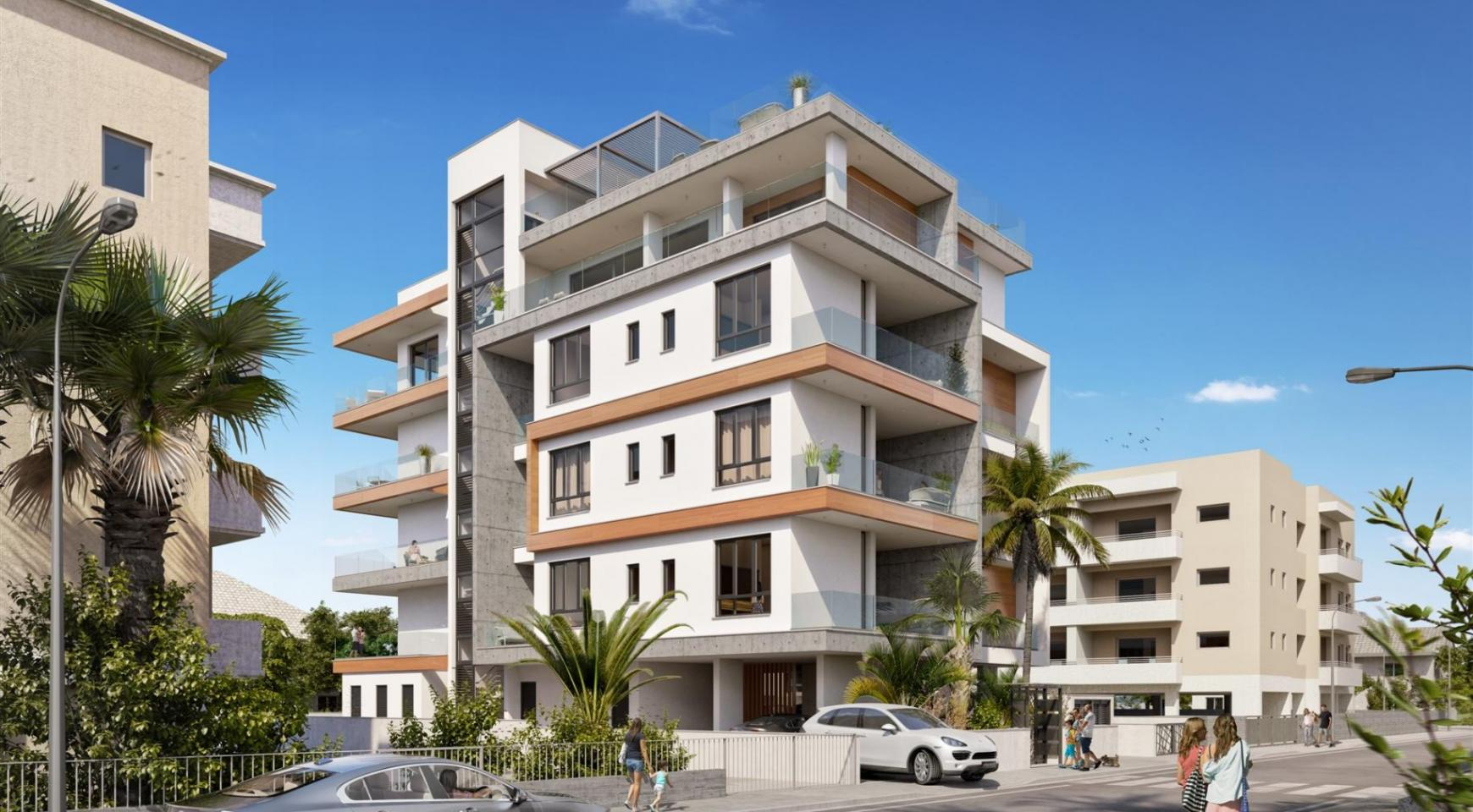 Hortensia Residence, Apt. 203. 3 Bedroom Apartment within a New Complex near the Sea - 3
