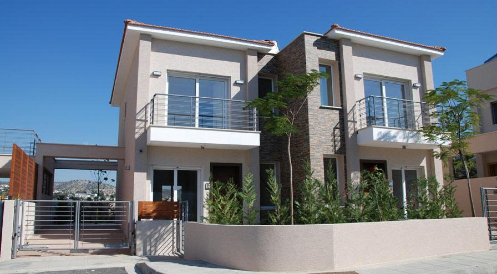 New 2 Bedroom Housewith Sea and Mountain Views in Mesovounia - 2