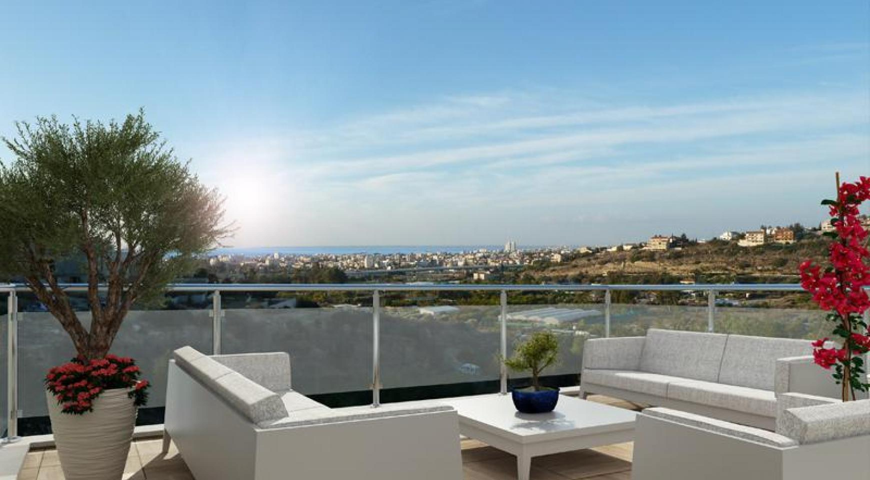 New 2 Bedroom Housewith Sea and Mountain Views in Mesovounia - 1