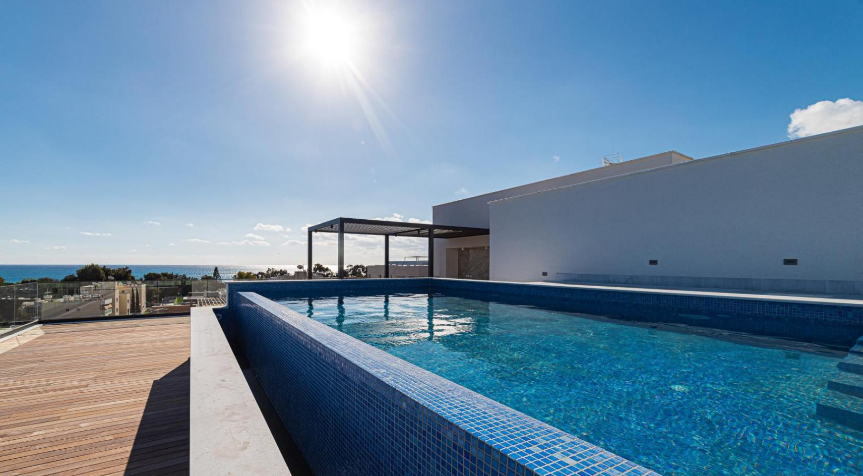 Hortensia Residence, Apt. 201. 2 Bedroom Apartment within a New Complex near the Sea  - 9