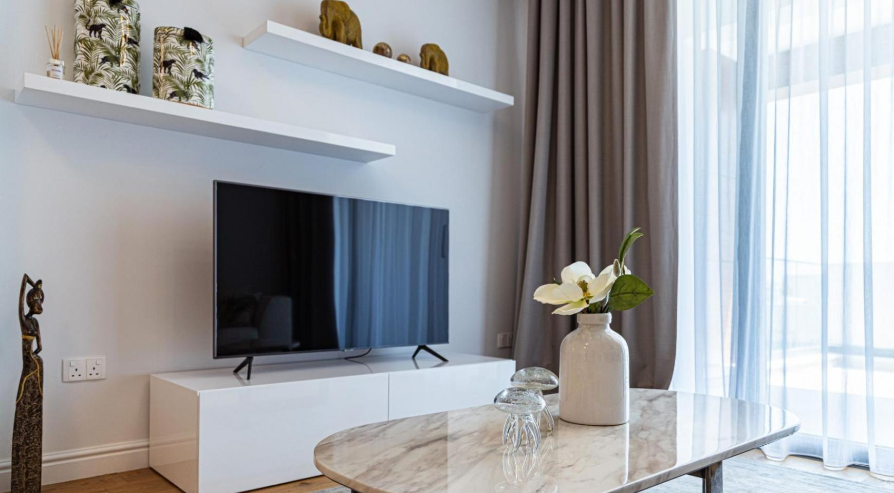 Hortensia Residence, Apt. 201. 2 Bedroom Apartment within a New Complex near the Sea  - 52