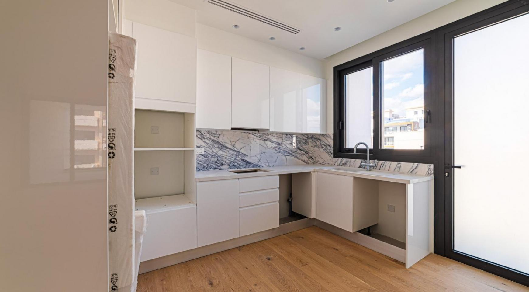 Hortensia Residence, Apt. 201. 2 Bedroom Apartment within a New Complex near the Sea  - 20