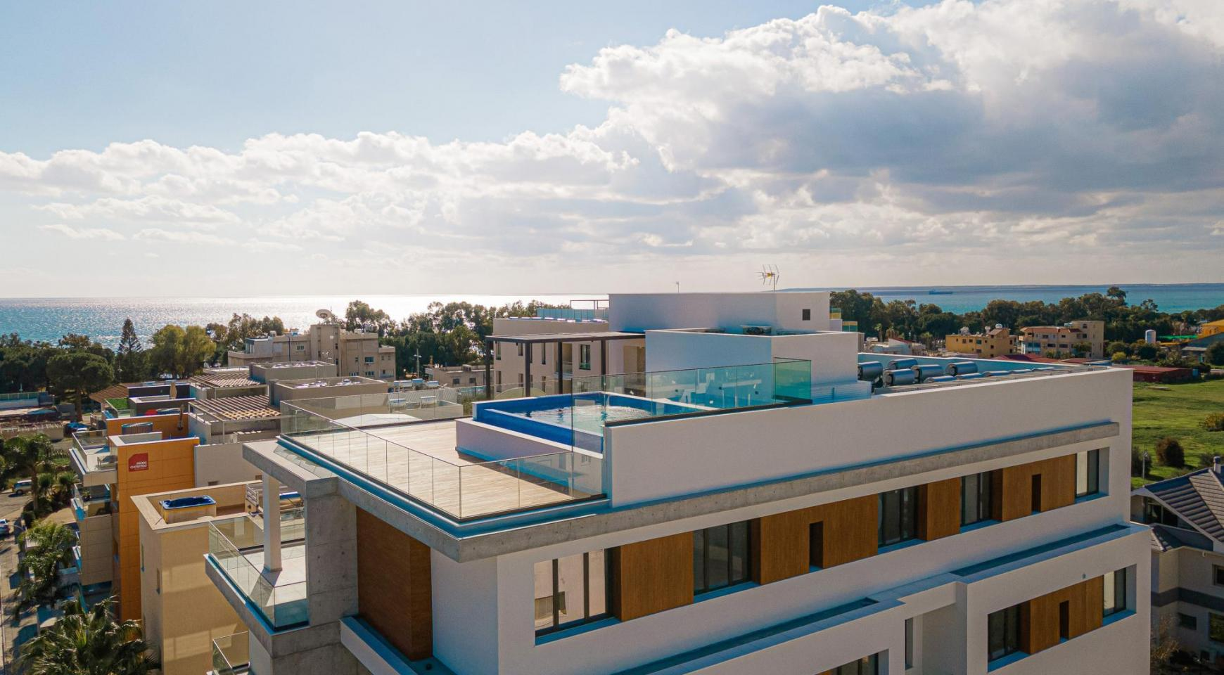 Hortensia Residence, Apt. 201. 2 Bedroom Apartment within a New Complex near the Sea  - 6