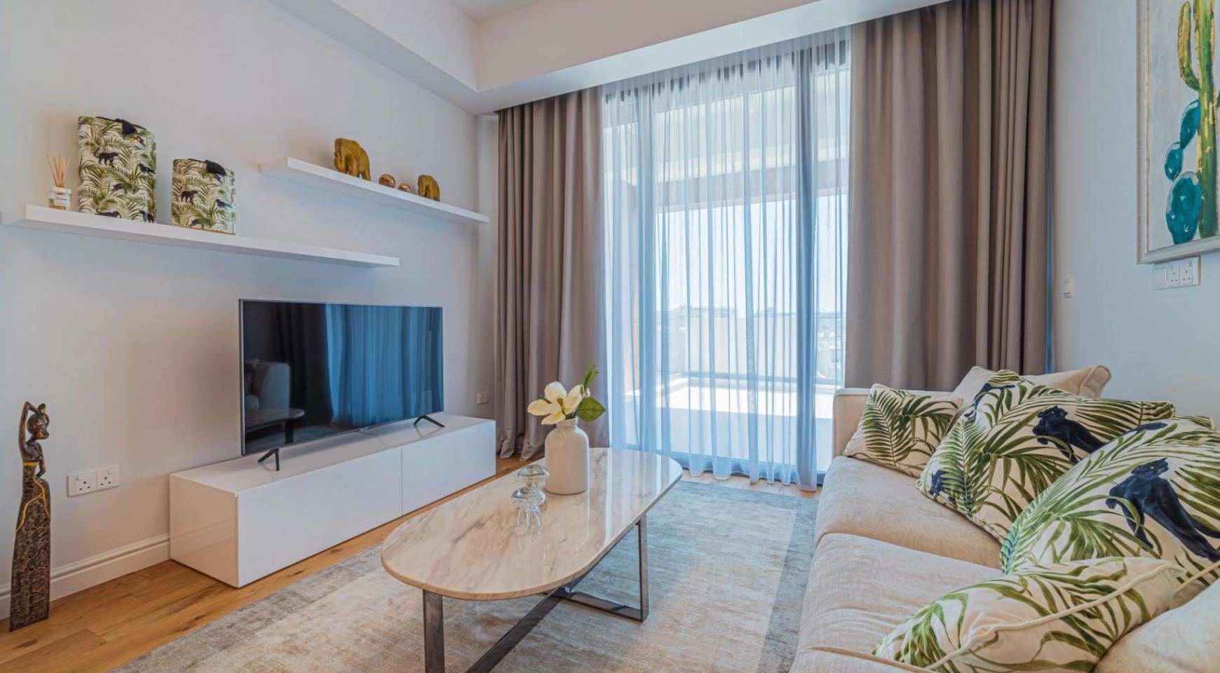 Hortensia Residence, Apt. 201. 2 Bedroom Apartment within a New Complex near the Sea  - 49