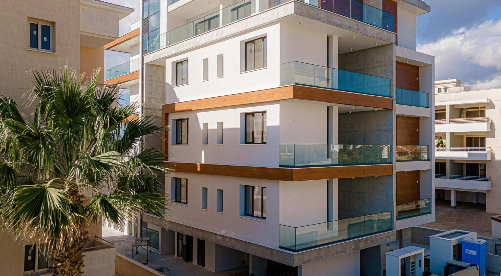 Hortensia Residence, Apt. 201. 2 Bedroom Apartment within a New Complex near the Sea  - 5
