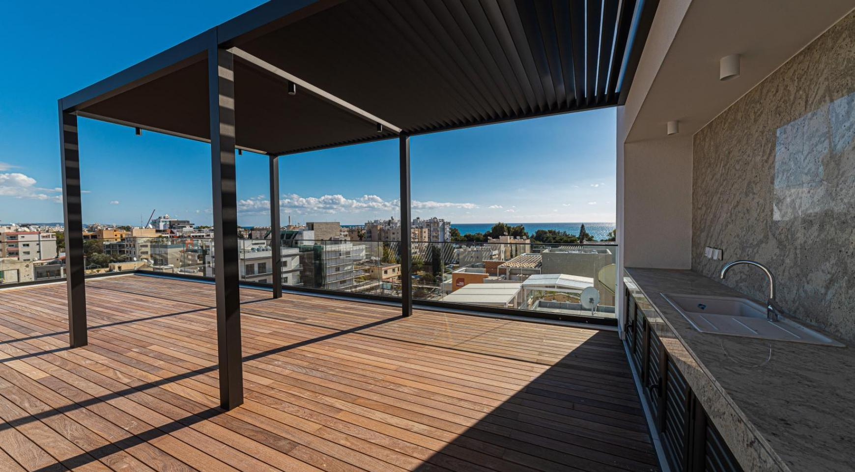 Hortensia Residence, Apt. 201. 2 Bedroom Apartment within a New Complex near the Sea  - 11