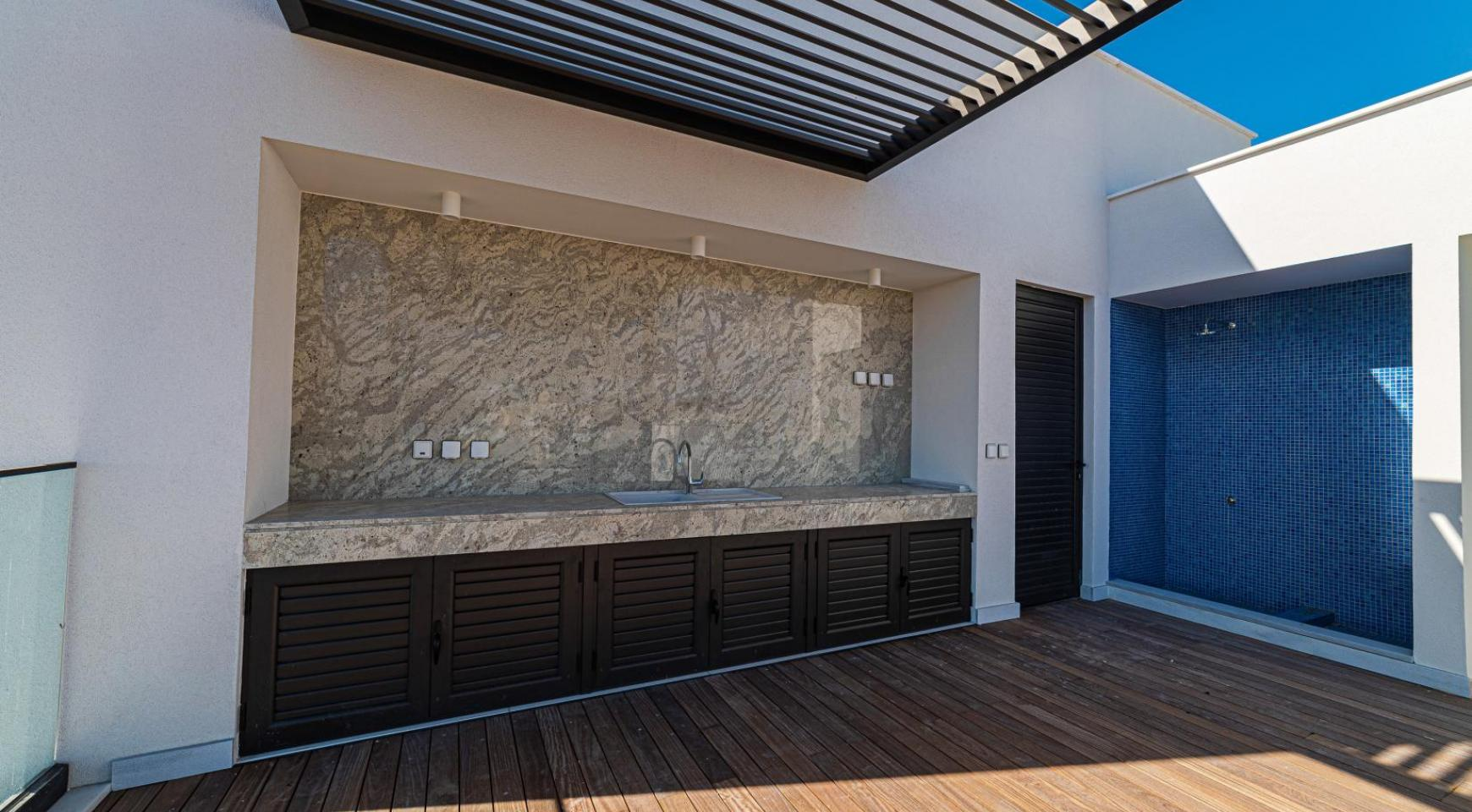 Hortensia Residence, Apt. 201. 2 Bedroom Apartment within a New Complex near the Sea  - 13