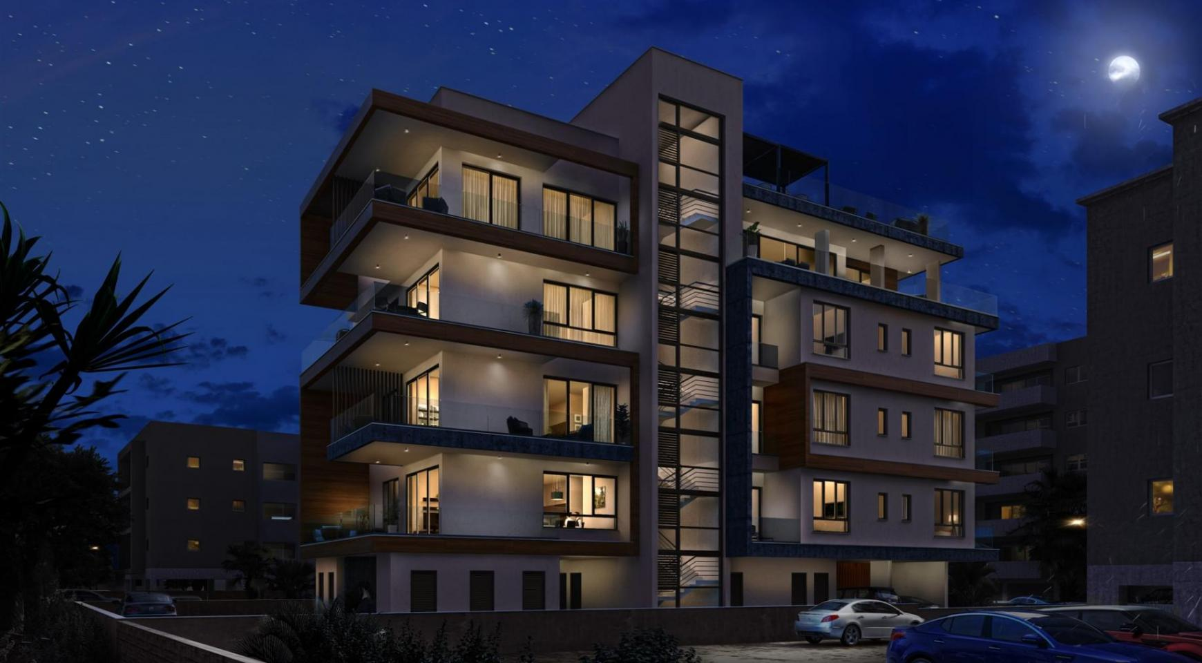 Hortensia Residence. Luxury 3 Bedroom Apartment 303 near the Sea - 9