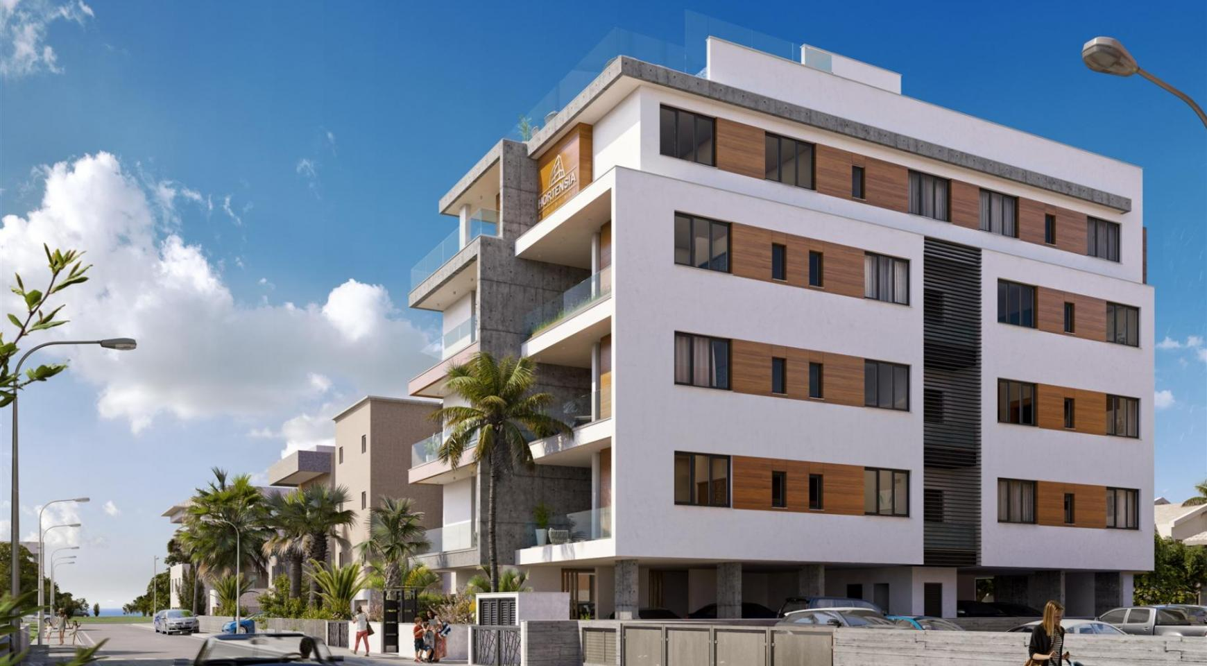 Hortensia Residence. Luxury 3 Bedroom Apartment 303 near the Sea - 1