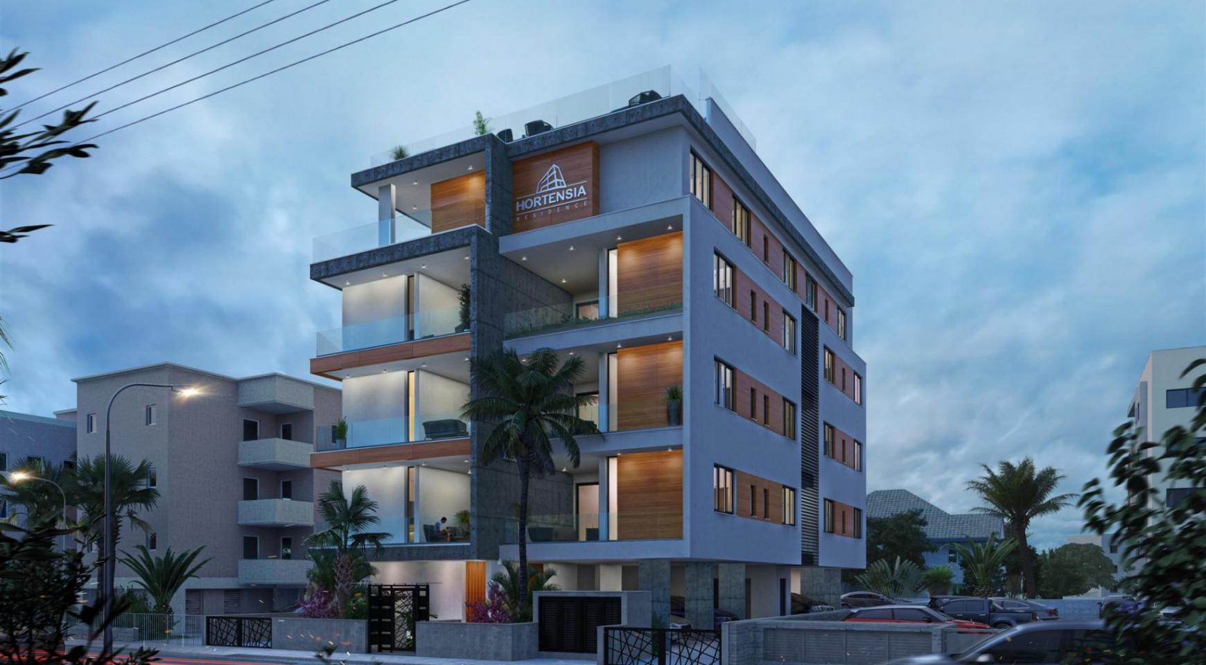 Hortensia Residence. Luxury 3 Bedroom Apartment 303 near the Sea - 8
