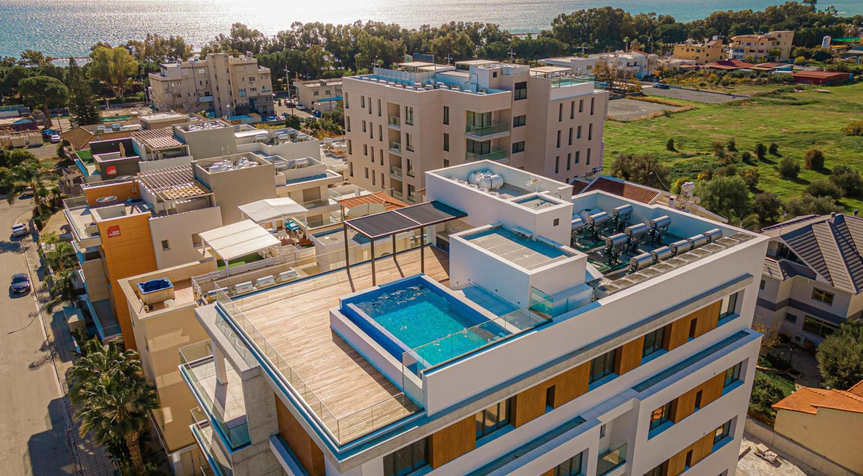 Hortensia Residence, Apt. 302. 2 Bedroom Apartment within a New Complex near the Sea  - 3