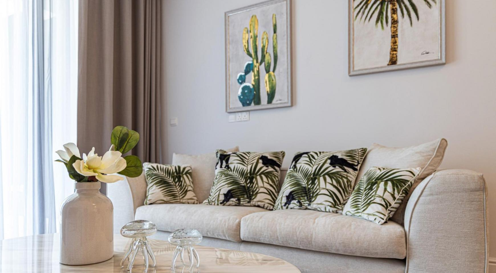 Hortensia Residence, Apt. 302. 2 Bedroom Apartment within a New Complex near the Sea  - 53