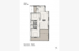 Hortensia Residence, Apt. 302. 2 Bedroom Apartment within a New Complex near the Sea  - 131