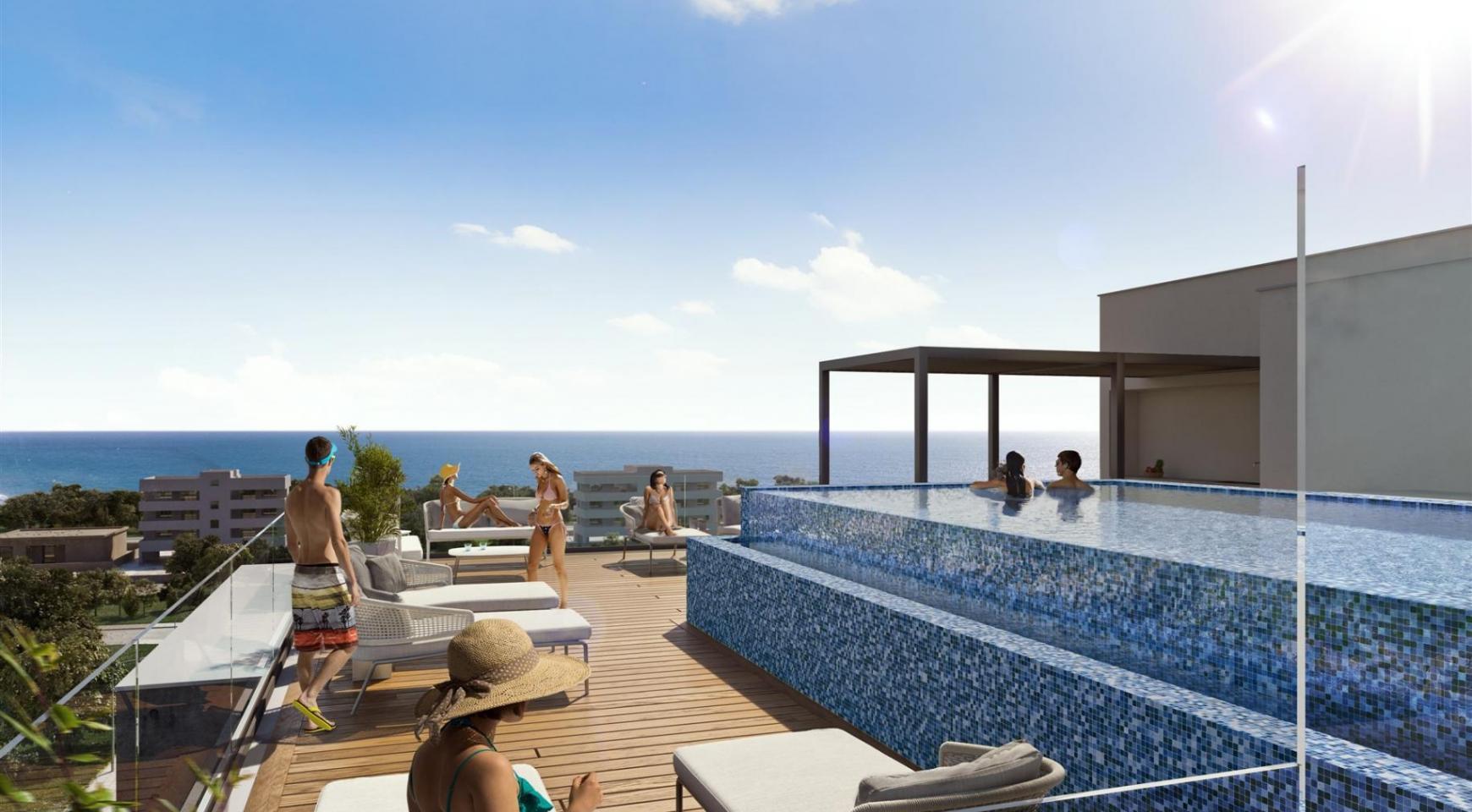 HORTENSIA RESIDENCE. Luxury 3 Bedroom Apartment 402 Near the Sea - 4