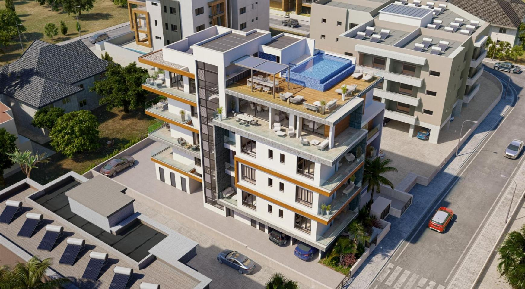 Hortensia Residence. Luxury 3 Bedroom Apartment 401 Near the Sea - 6