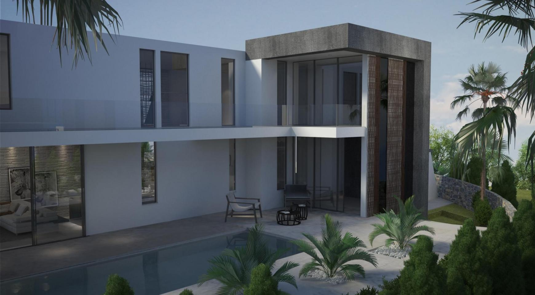 Contemporary Seafront Villa in Ayia Thekla Area - 6