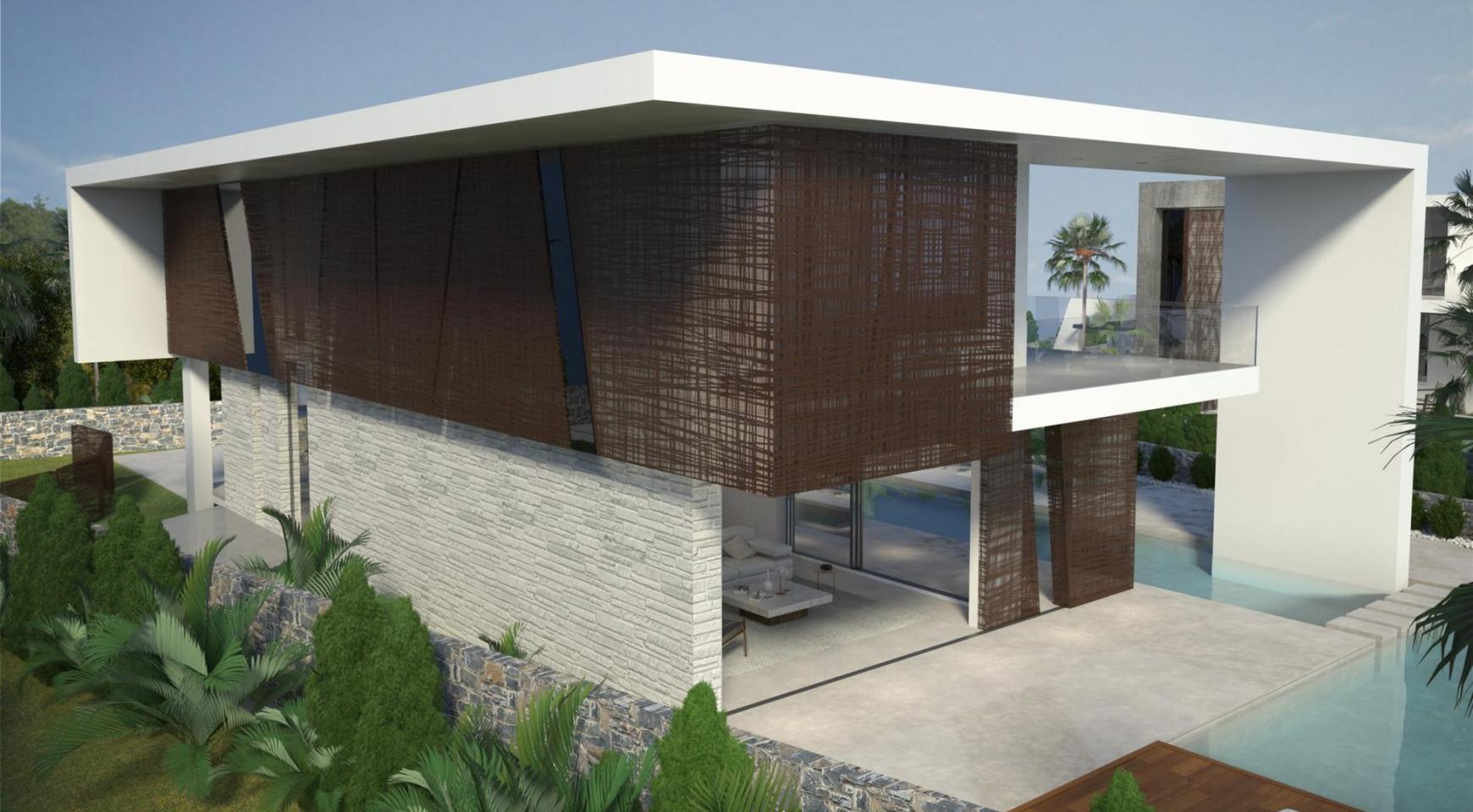 Contemporary Seafront Villa in Ayia Thekla Area - 3