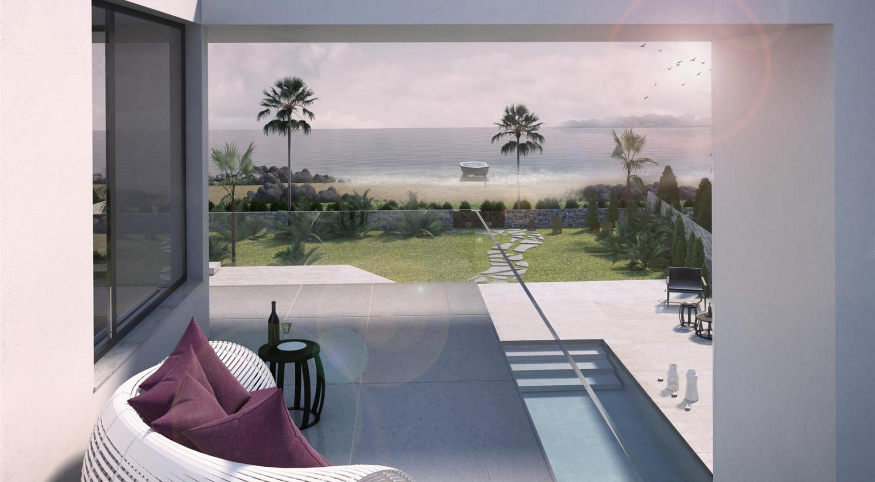 Contemporary Seafront Villa in Ayia Thekla Area - 14