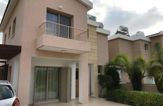 3 Bedroom Semi-Detached House with the Swimming Pool in Erimi Village