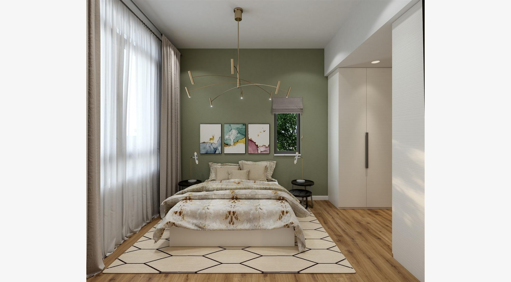 Urban City Residences, Block A. New Spacious 3 Bedroom Apartment 201 in the City Centre - 23