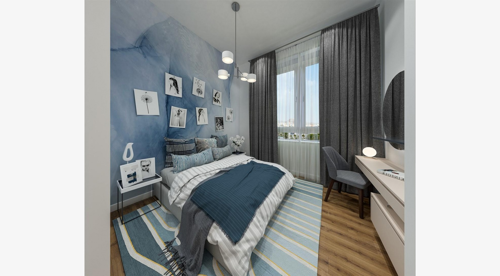 Urban City Residences, Block A. New Spacious 3 Bedroom Apartment 201 in the City Centre - 25