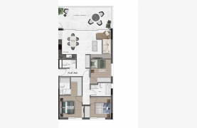Urban City Residences, Block A. New Spacious 3 Bedroom Apartment 201 in the City Centre - 88
