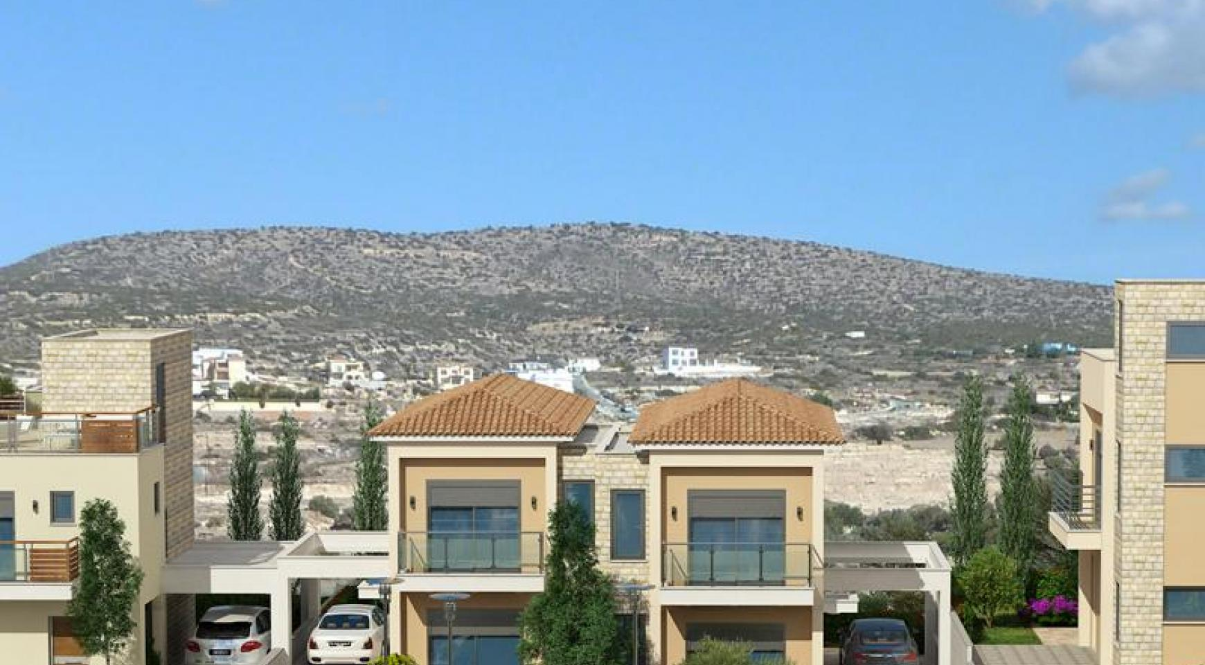 2 Bedroom House with Sea and Mountain Views in Mesovounia - 7