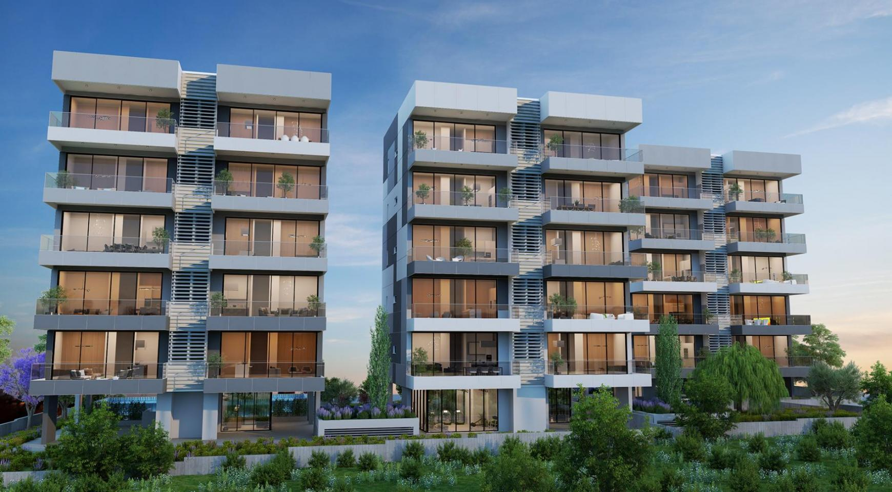 Urban City Residences, Block B. New Spacious 3 Bedroom Apartment 201 in the City Centre - 23