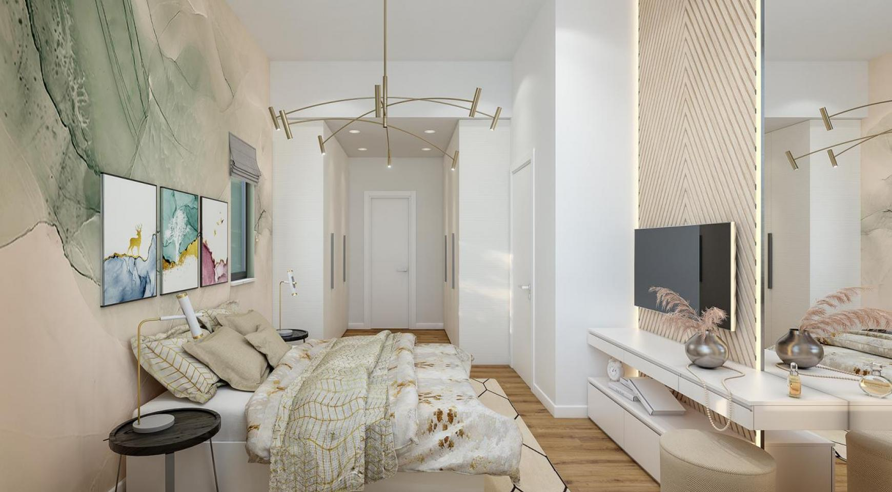 Urban City Residences, Block B. New Spacious 2 Bedroom Apartment 202 in the City Centre - 7