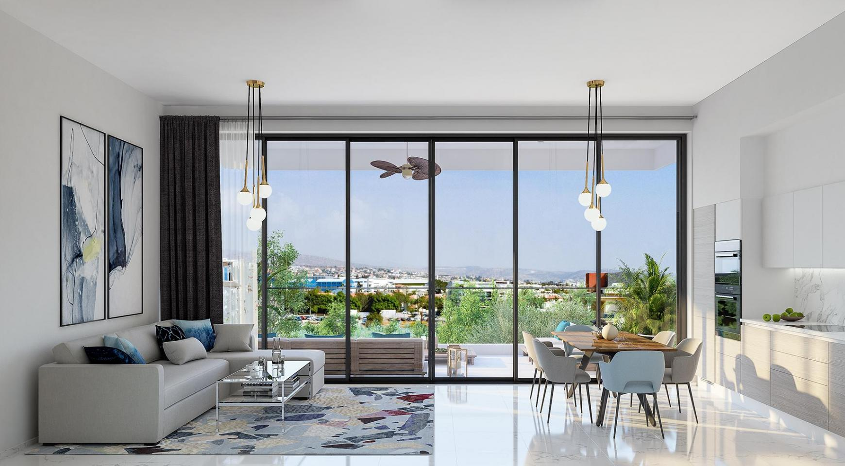Urban City Residences, Block B. New Spacious 2 Bedroom Apartment 202 in the City Centre - 2