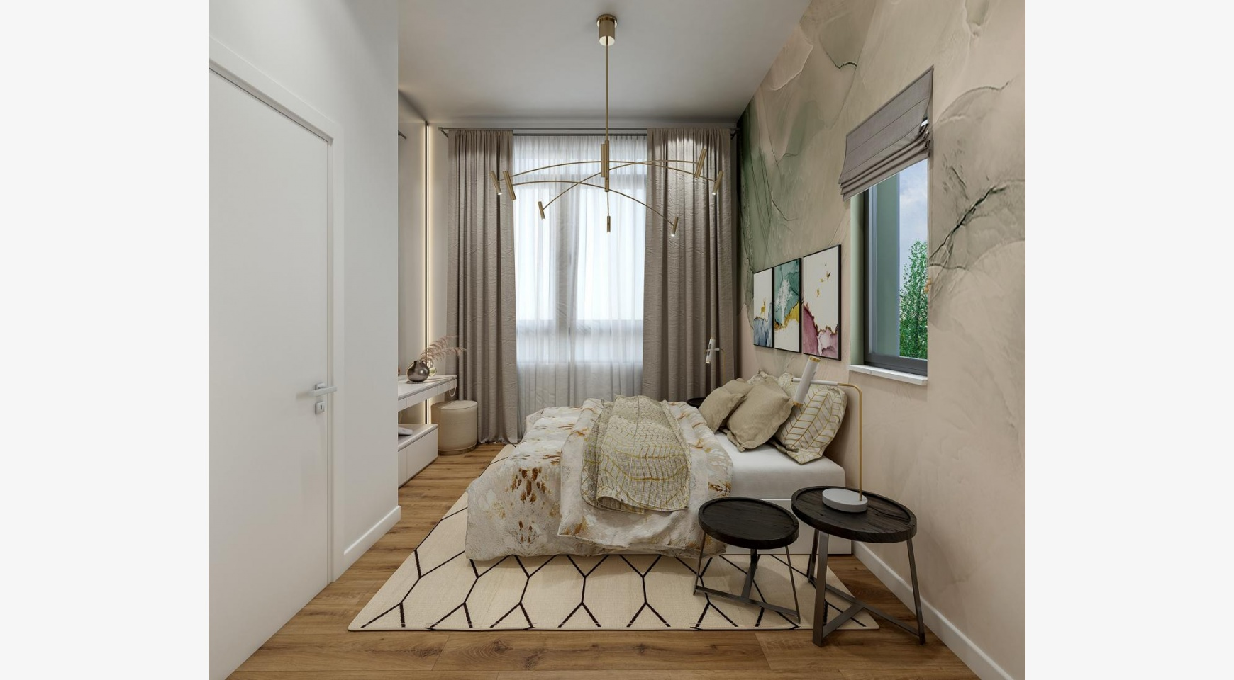 Urban City Residences, Block B. New Spacious 2 Bedroom Apartment 202 in the City Centre - 8