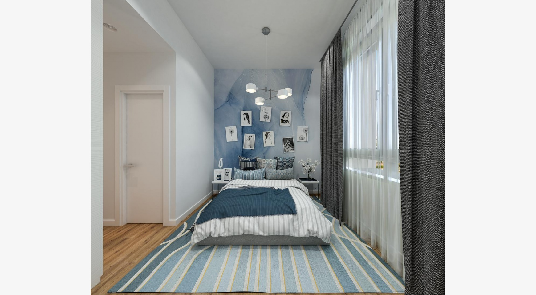 Urban City Residences, Block B. New Spacious 2 Bedroom Apartment 202 in the City Centre - 9