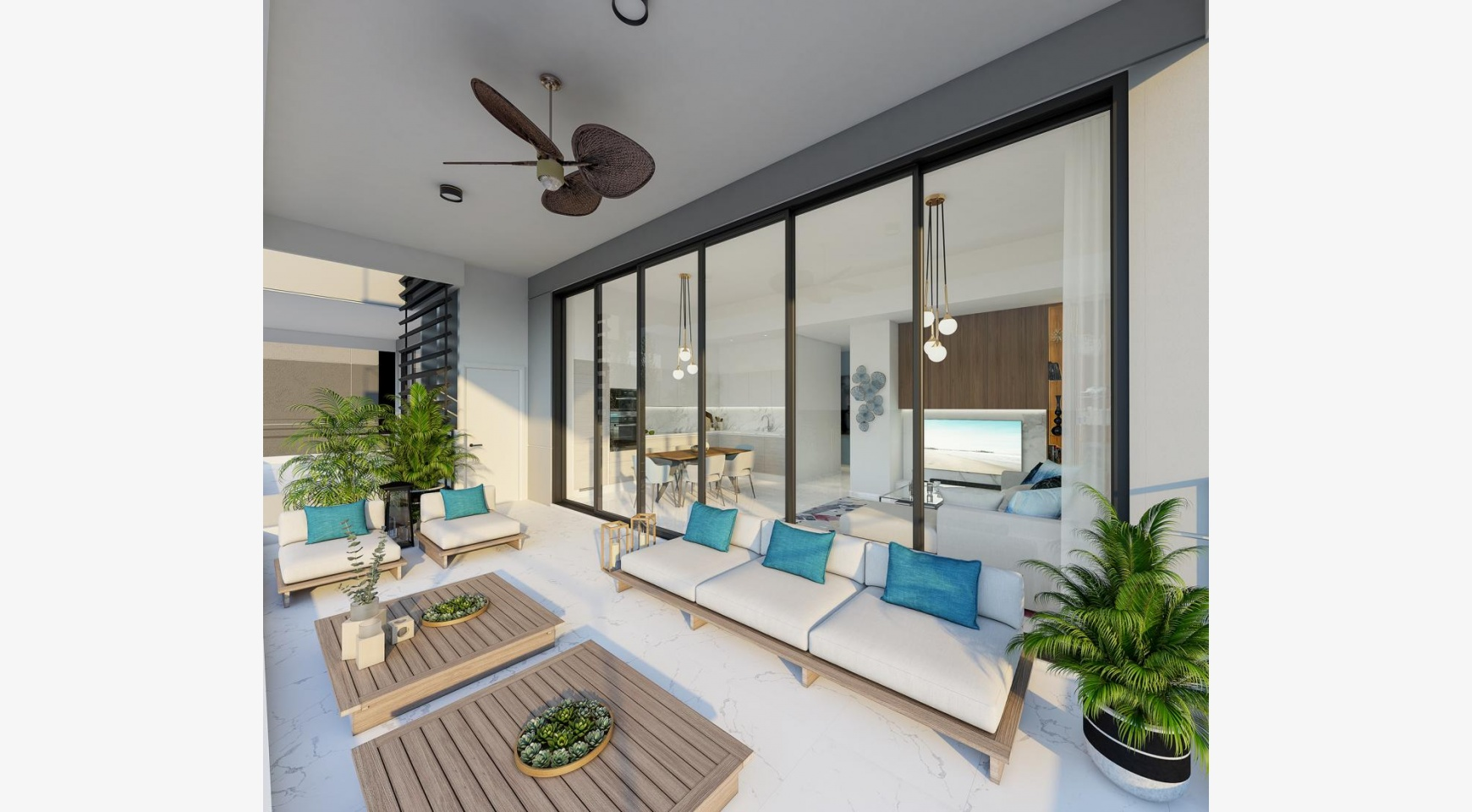 Urban City Residences, Block B. New Spacious 2 Bedroom Apartment 202 in the City Centre - 3