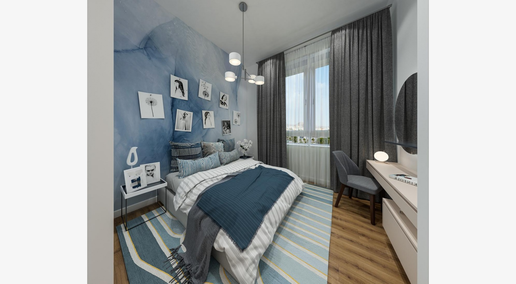 Urban City Residences, Block B. New Spacious 2 Bedroom Apartment 202 in the City Centre - 10