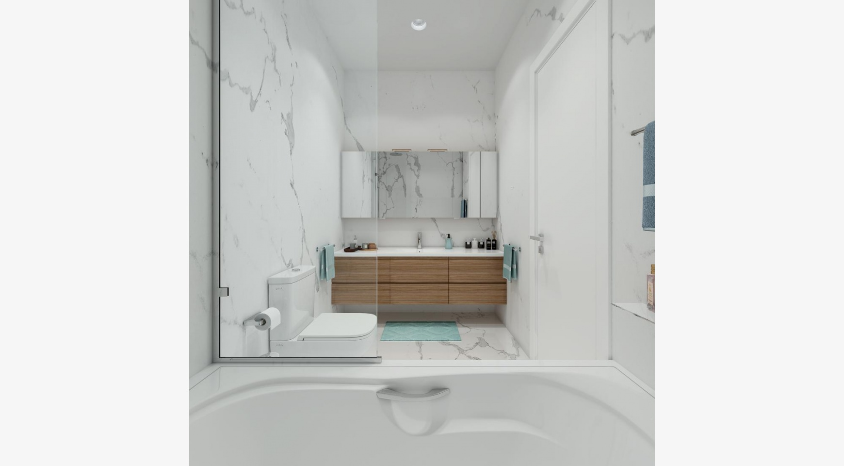Urban City Residences, Block B. New Spacious 2 Bedroom Apartment 202 in the City Centre - 16