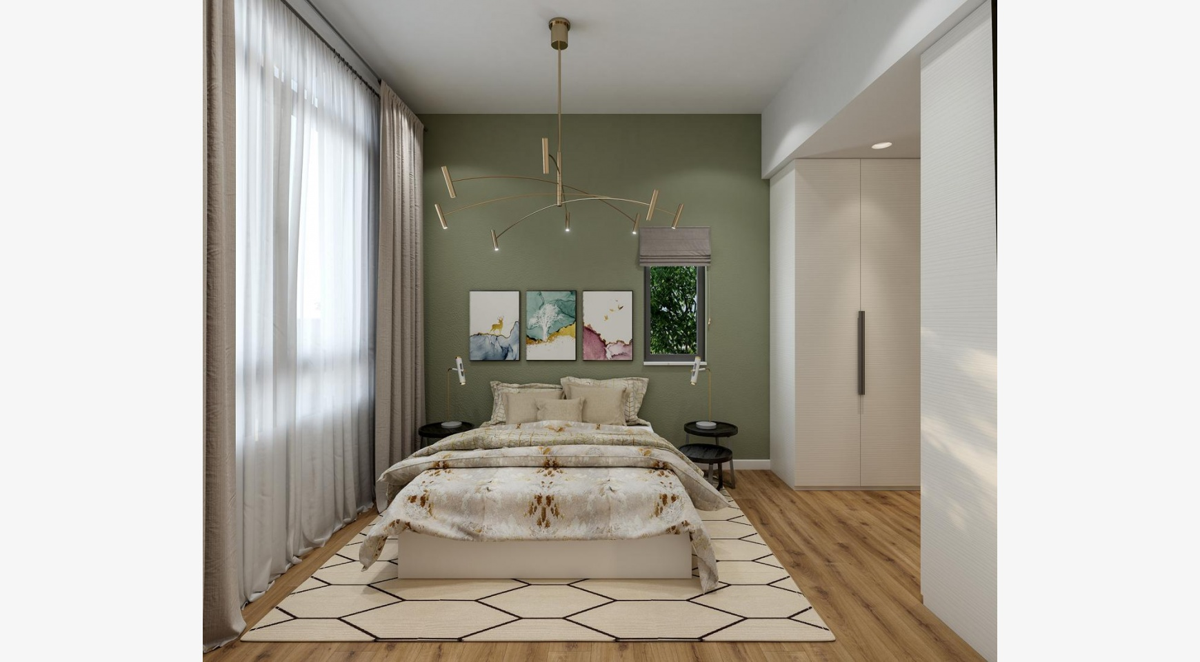 Urban City Residences, Block B. New Spacious 2 Bedroom Apartment 202 in the City Centre - 6