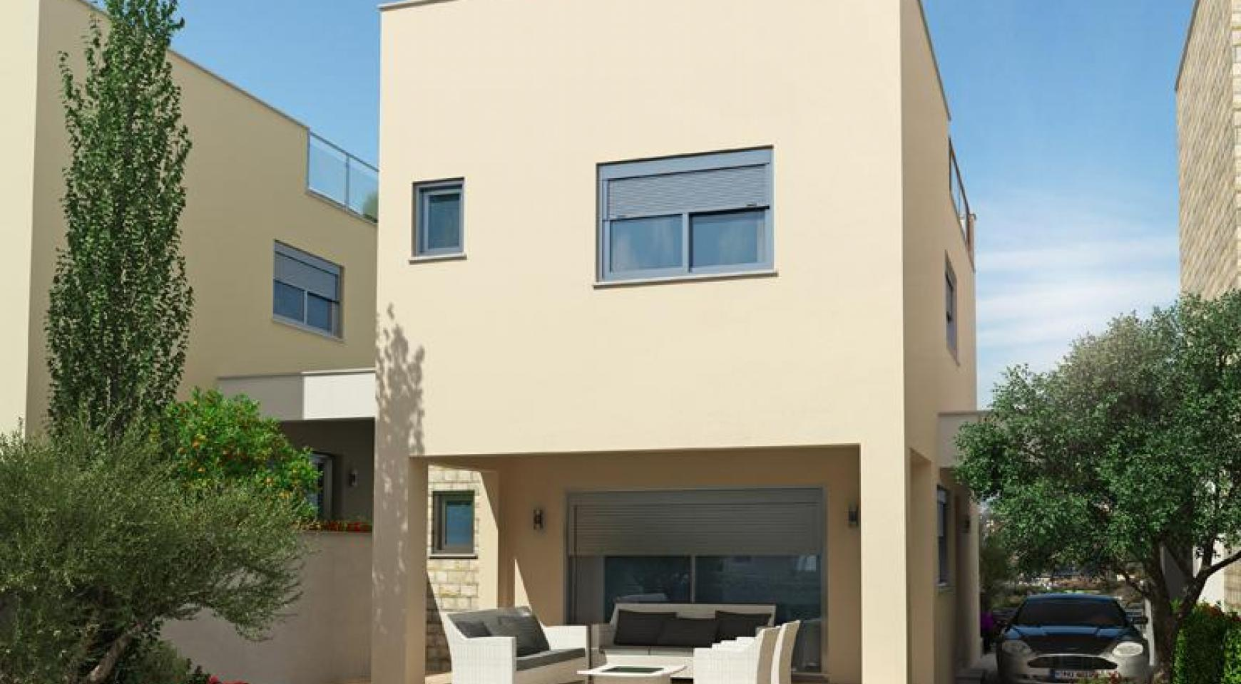 Spacious 2 Bedroom House with Sea and Mountain Views in Mesovounia - 3