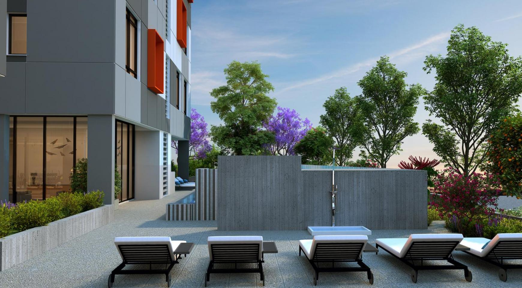 Urban City Residences, Block B. New Spacious 2 Bedroom Apartment 302 in the City Centre - 27