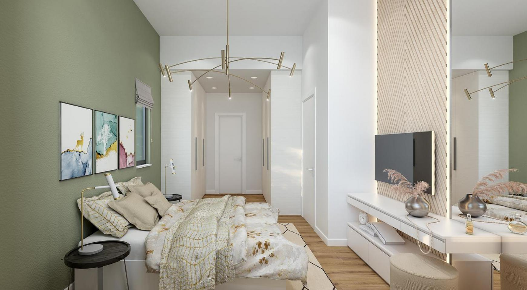 Urban City Residences, Block B. New Spacious 2 Bedroom Apartment 302 in the City Centre - 4