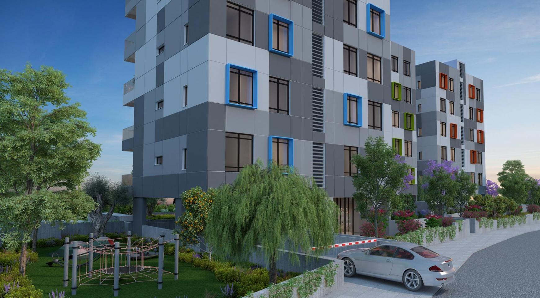 Urban City Residences, Block B. New Spacious 2 Bedroom Apartment 302 in the City Centre - 25